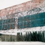Faded Baseball Scoreboard, Uranium City